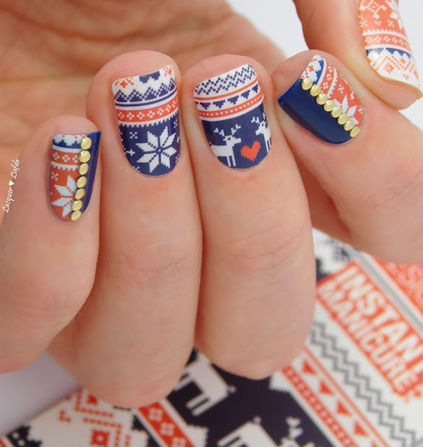 Thumbs Up Winter Nail Wraps - Jolly Jumper