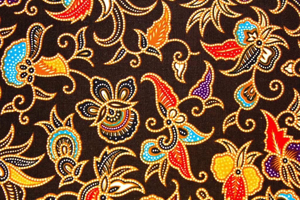 Five Art Studio and Gallery Ubud: Balinese batik fabric