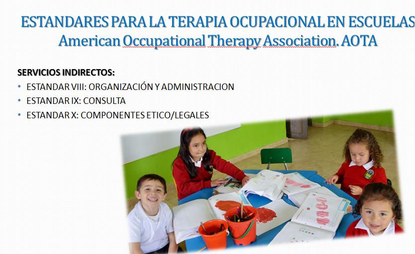 Intervención de terapia ocupacional en el ámbito educativo con ''NAO'' el robot