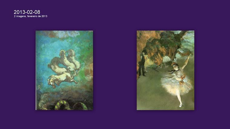 REDON, Odilon (1840-1916) e DEGAS, Edgar (1834-1917).