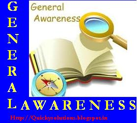 General awareness solved question paper 2013 for ibps exam, ssc CGL exam, Bank exam