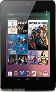 Harga Google Nexus 7 16GB (Asus Nakasi) Tablet Terbaru 2012