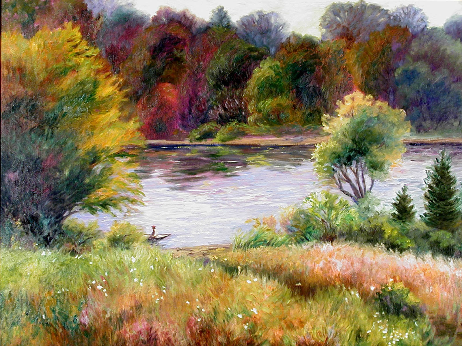 Wallpapers pond arts - Art wallpaper pictures ...