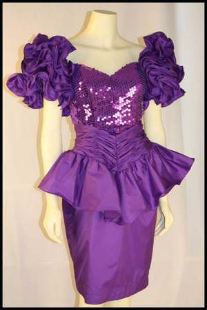 80s Prom Dress Leather – Dresses for Woman