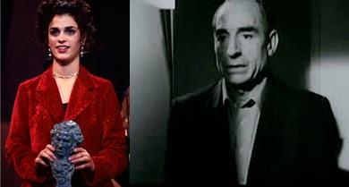 Ruth Gabriel y Saturnino García, premios Goya a los mejores actores Revelación 1994, Días contados, Justino, un asesino de la tercera edad