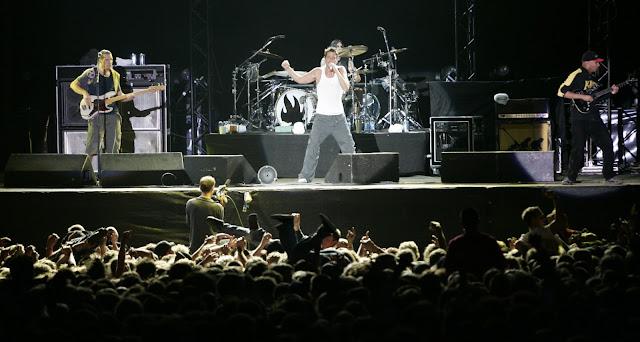 audioslave concert,audioslave,rock band