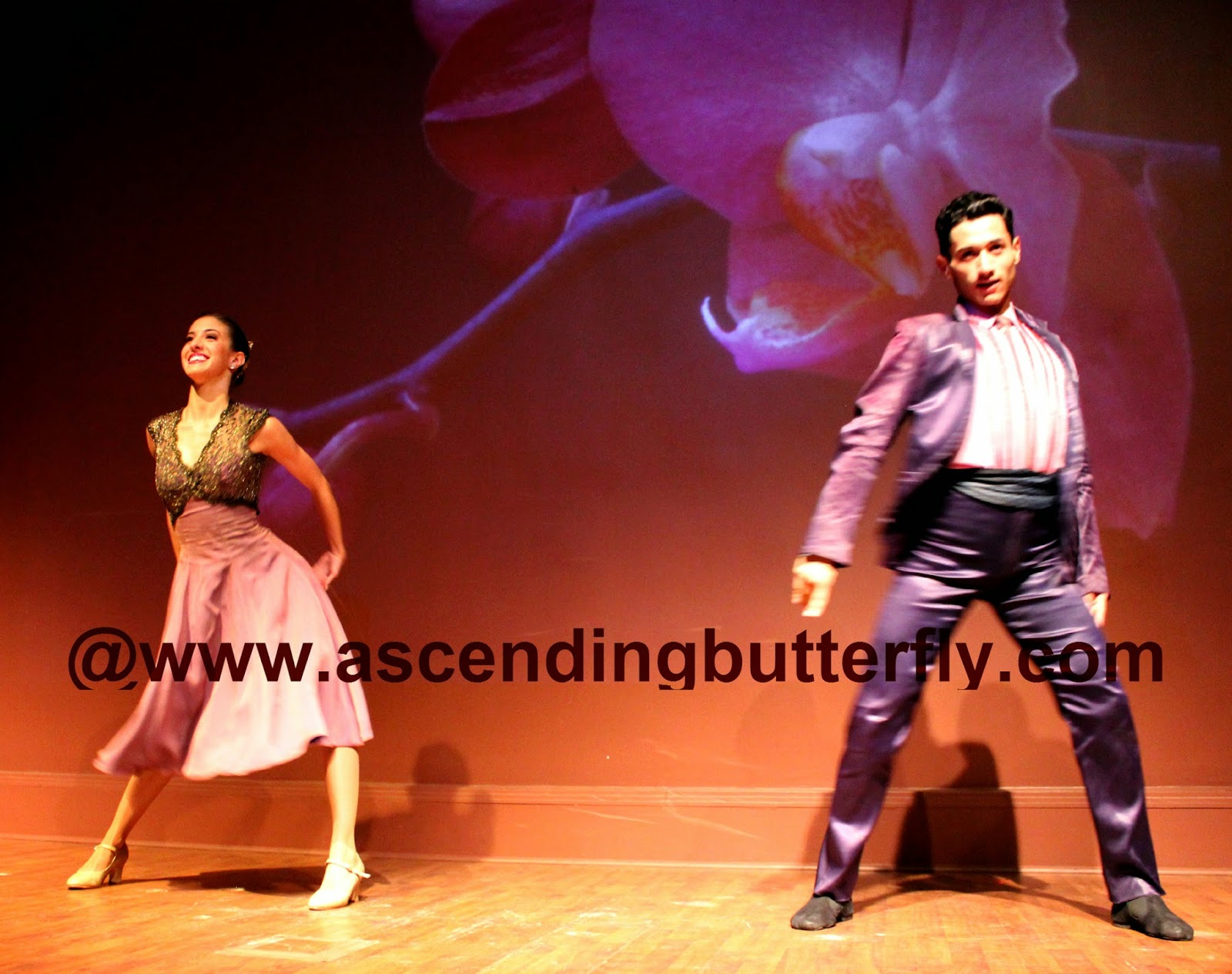 Ballet Hispanico BHdos, Dancer, Nicolay Espitia, and his dance partner set the scene in a number entitled: Club Havana