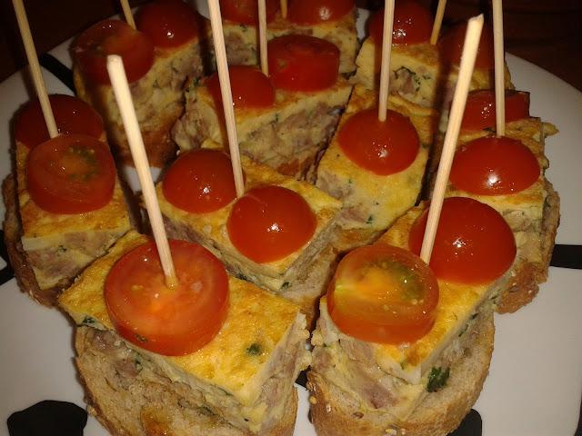 Pinchos de tortilla