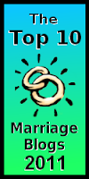 Top 10 Marriage Blogs 2011 logo