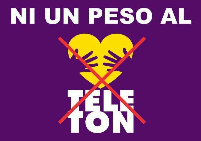 Logo del fraude del teleton de televisa - Ximinia