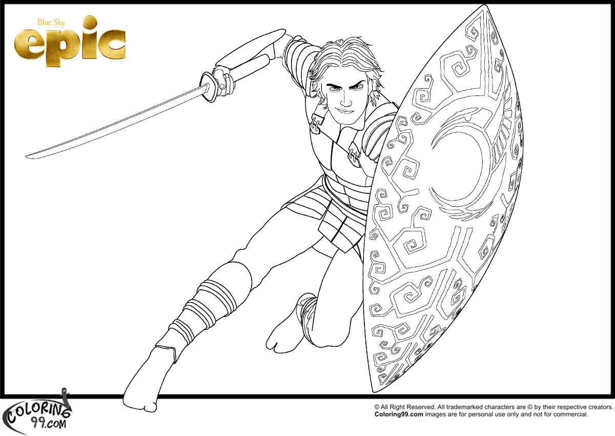 Epic Movie Coloring Pages