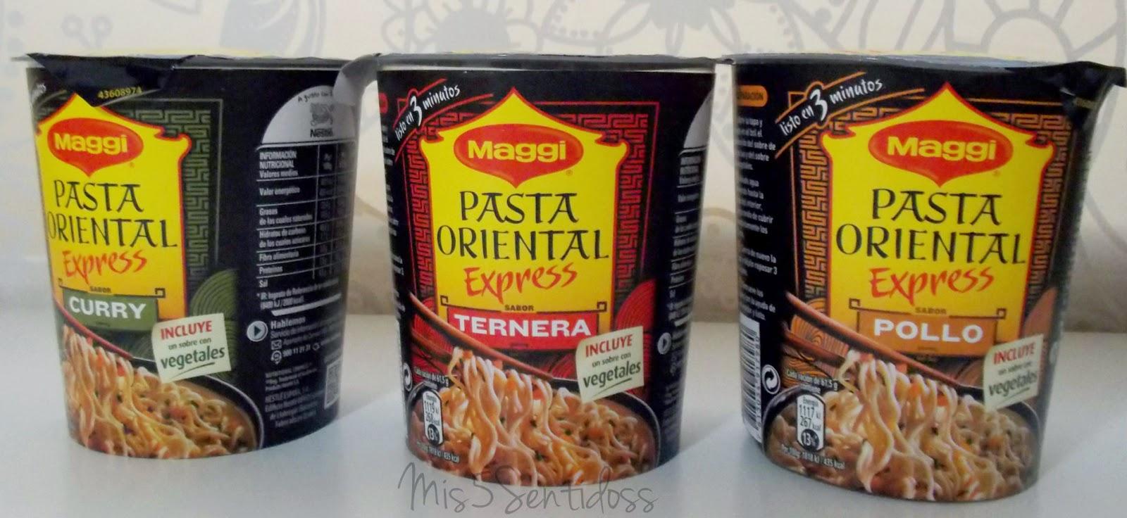 Degustabox Pasta Oriental Maggi