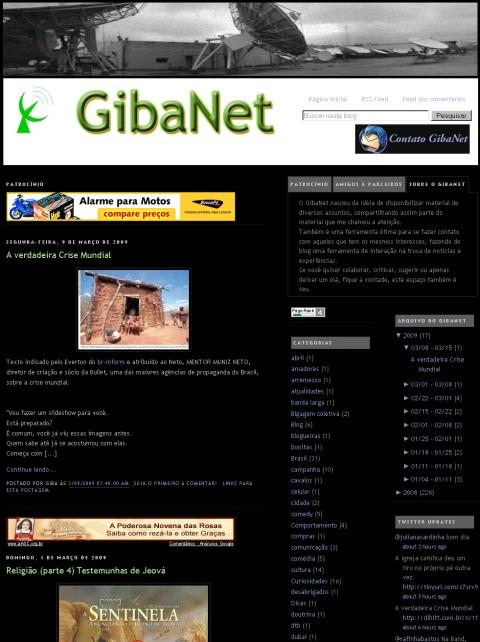 Visite GibaNet