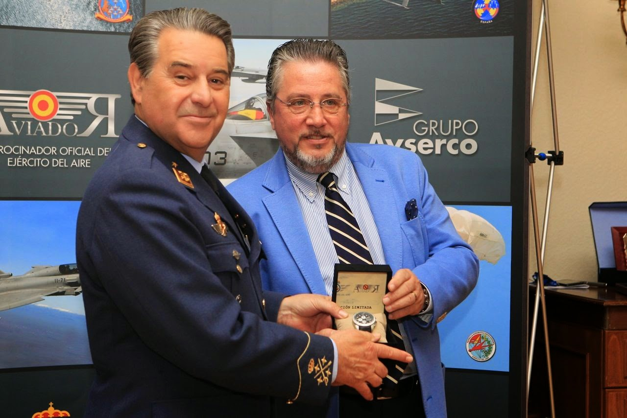 Aviador, cronógrafo, relojes, Made in Spain, Suits and Shirts,