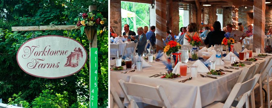 Yorktowne Farms Wedding