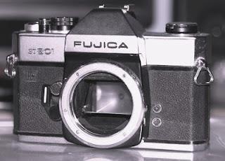 Fujica ST801 tampak depan
