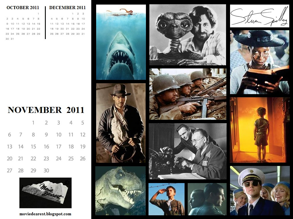Monthly Wallpaper - November 2011: Steven Spielberg