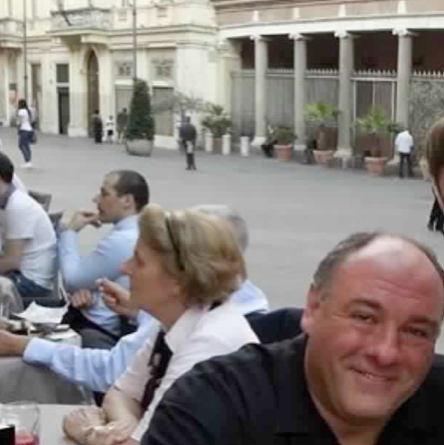 Also Today On Instagram I Saw The Last Photo Taken Of James Gandolfini From Day He Died In Rome