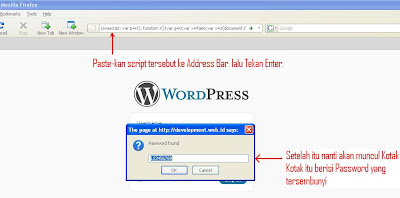 password wordpress