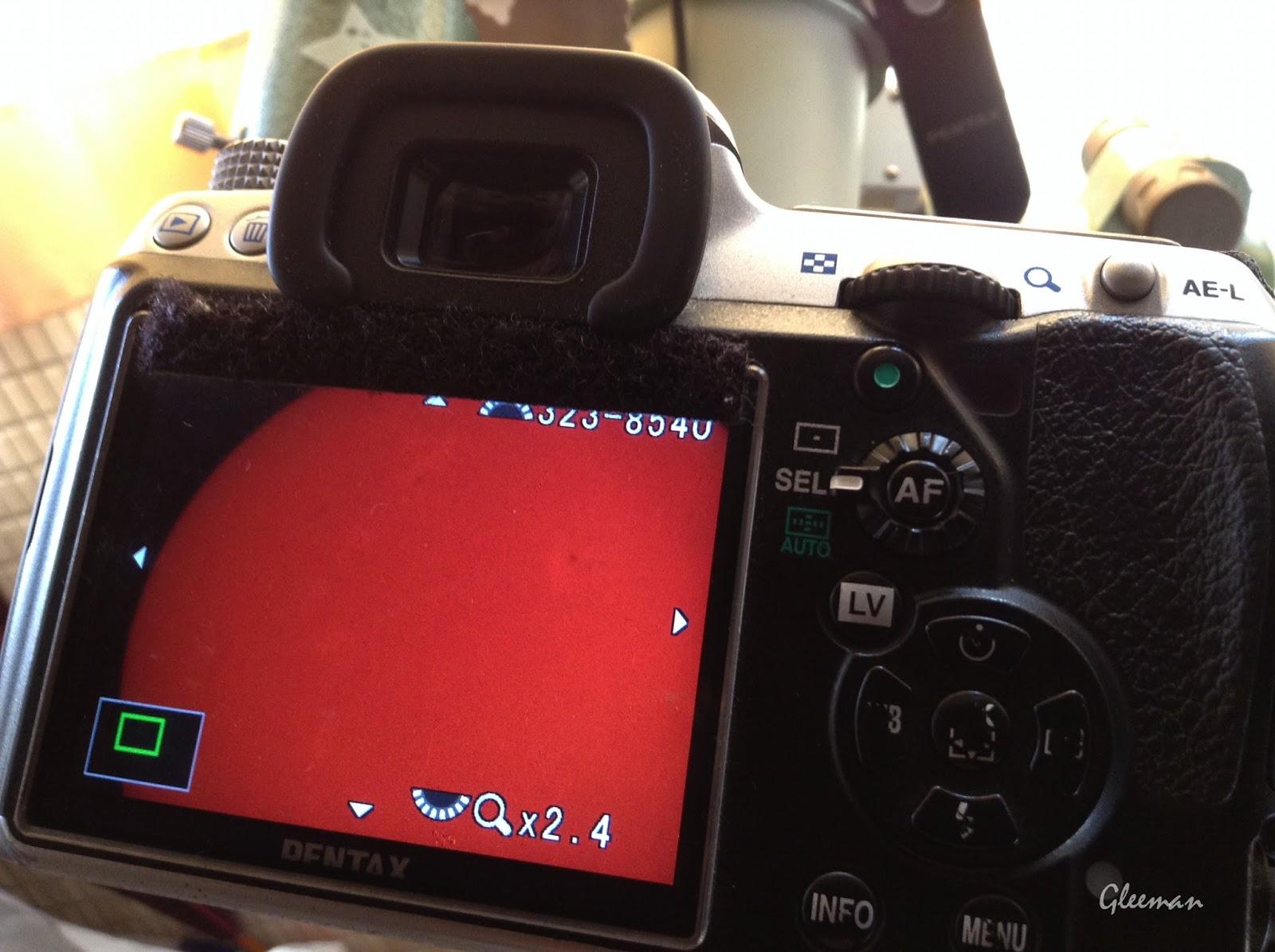拍攝太陽請用LCD liveview對焦