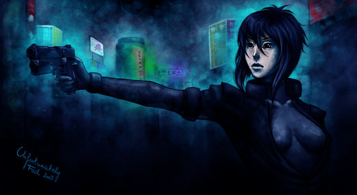 A ghost in a shell por crespella
