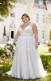 Vestidos de novia para gorditas. Elegancia y romance