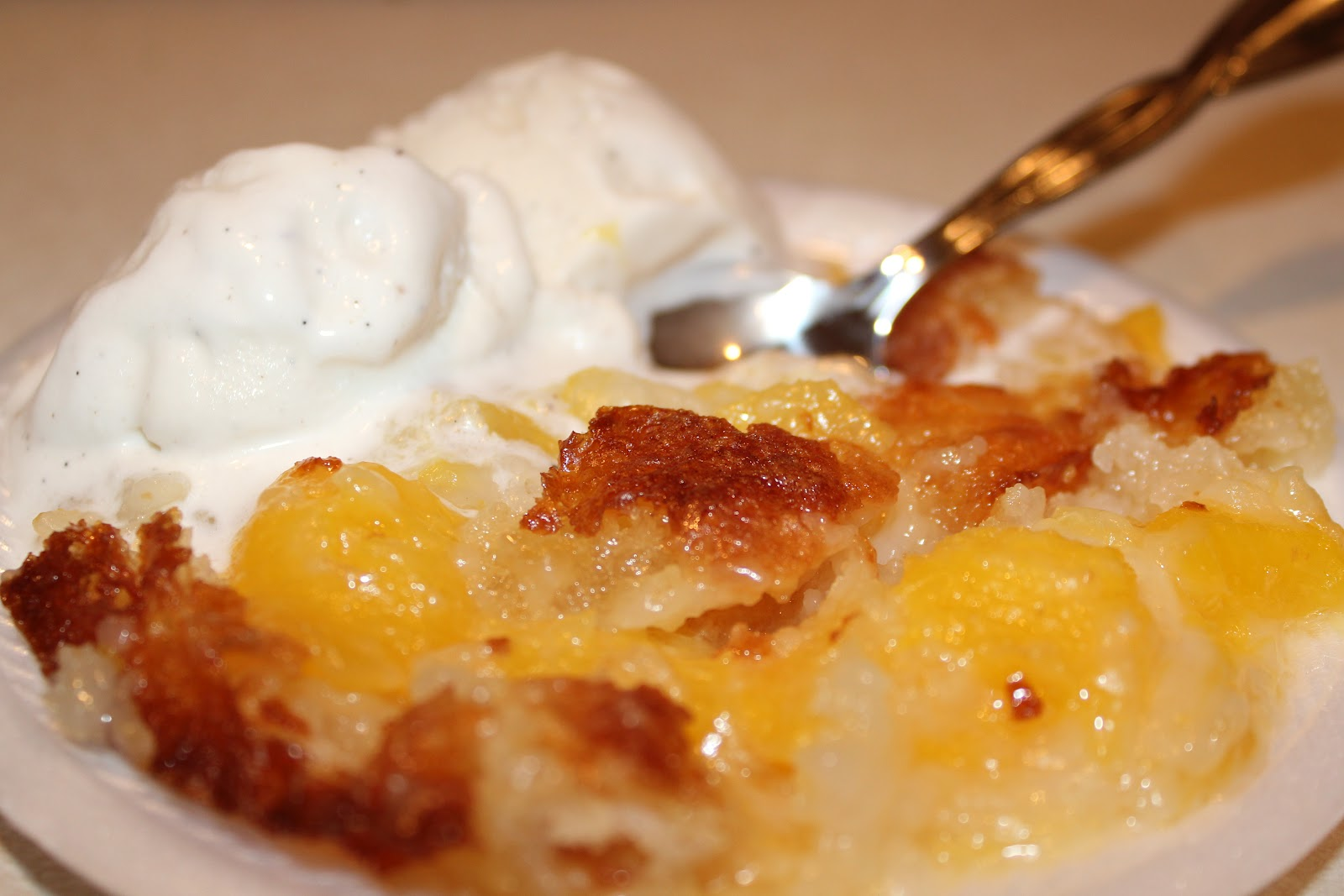 Southern Peach Cobbler…the Easy Way! ~ Adventures of a Middle Sister
