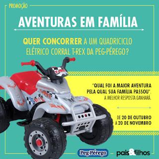 """Promoção """"Aventuras em família"""" - Revista Pais e Filhos"""