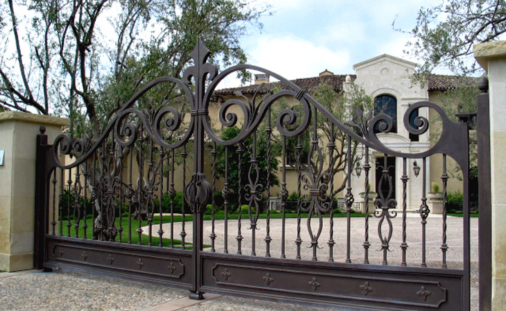 Great iron gate designs for Home gate architecture