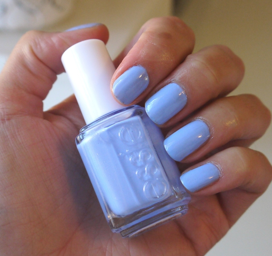 Essie: short shorts This color is screaming to be used as a summer ...