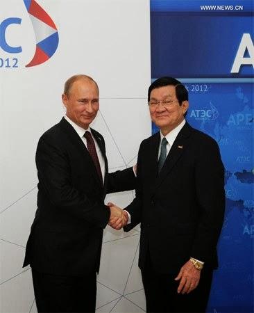 Hôm nay Tổng thống Putin thăm Việt Nam
