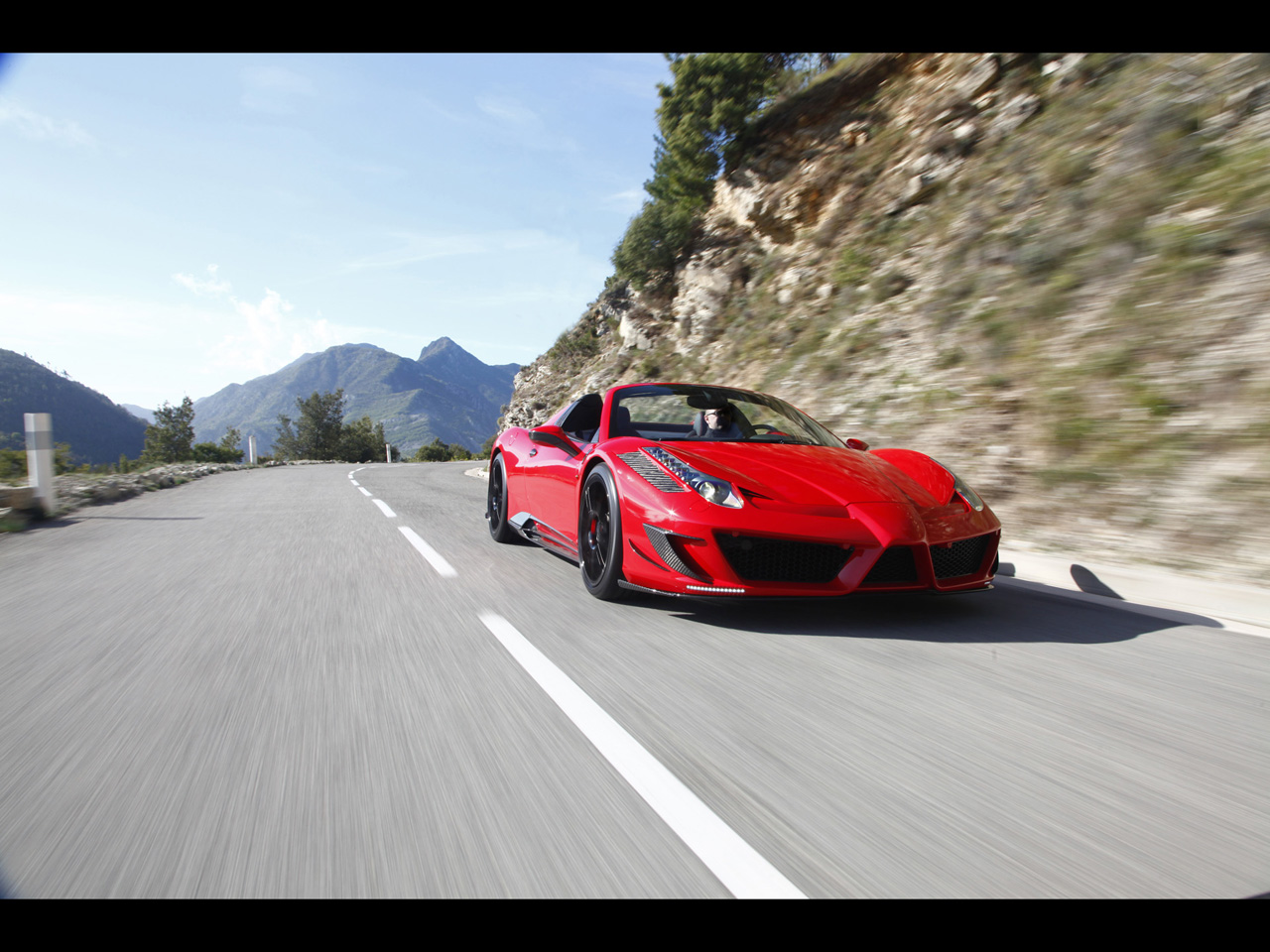2012 mansory ferrari 458 spider wallpapers cartestimony ferrari 458 owners can jump a hole in the sky now you can get a piece of italia trough the design of the mansory mansory german tuner known for its great vanachro Gallery