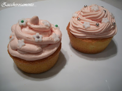 Cupcake all'arancia e frosting al mascarpone