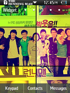 Other Latest The Running Man Samsung Corby 2 Theme Wallpaper