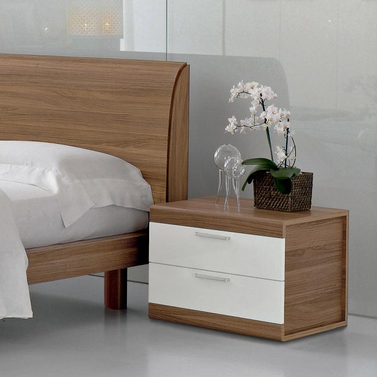 Multinotas mesas de noche parte 1 - Bedside table ideas for small space minimalist ...