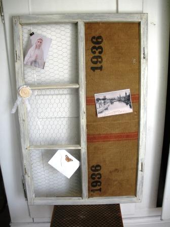 atelier stockabong shabby chic memoboard. Black Bedroom Furniture Sets. Home Design Ideas