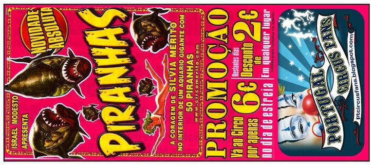 Bilhete Promocional Circo Merito/Portugal Circus Fans