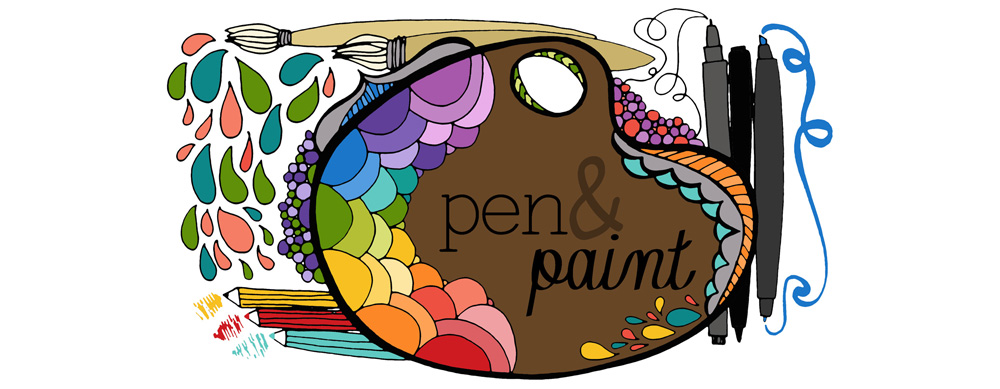 pen &amp; paint