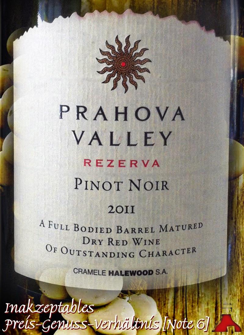 Rewe, Test und Bewertung: Prahao Valley Rumänien Pinot Noir 2011
