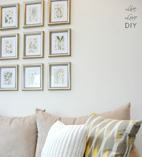 12 Unique Ways To Create a Photo Wall Display | LiveLoveDIY