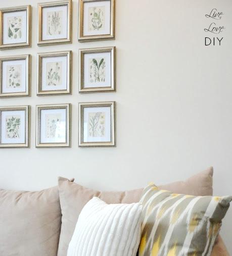 12 Unique Ways To Create a Photo Wall Display | LiveLoveDIY