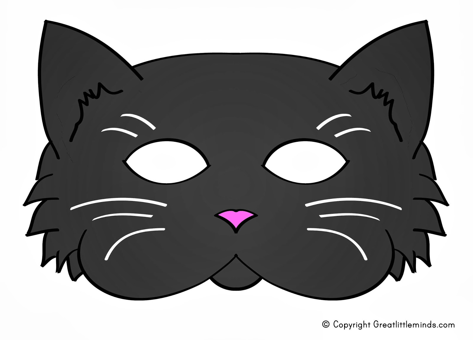 Current image for printable cat mask