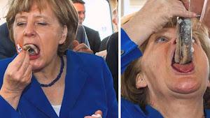 """Muçulmano aos gritos de """"Allahu Akbar"""" tenta matar Angela Merkel"""
