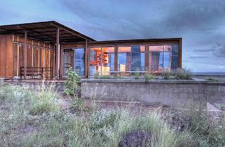 Prefab house, Texas