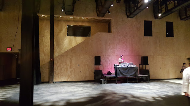 DJ at opening of St. Ann's Warehouse Theater