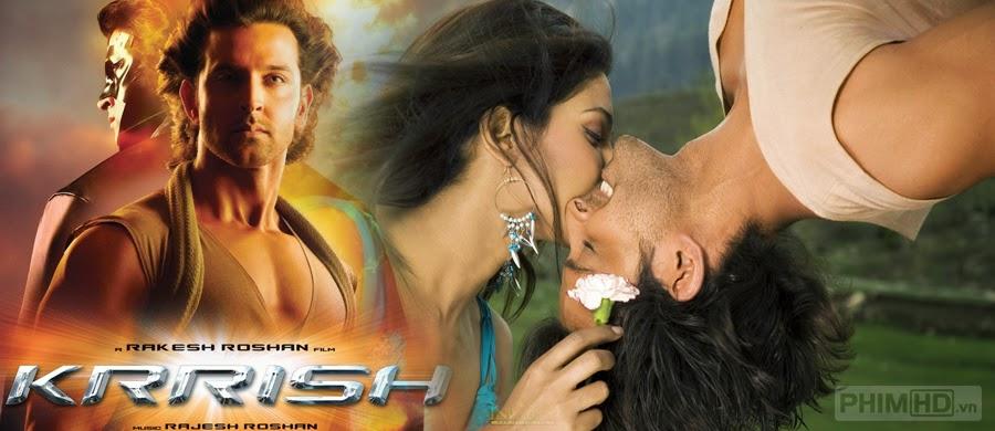 Phim Siêu Nhân Ấn Độ VietSub HD | Krrish 2006