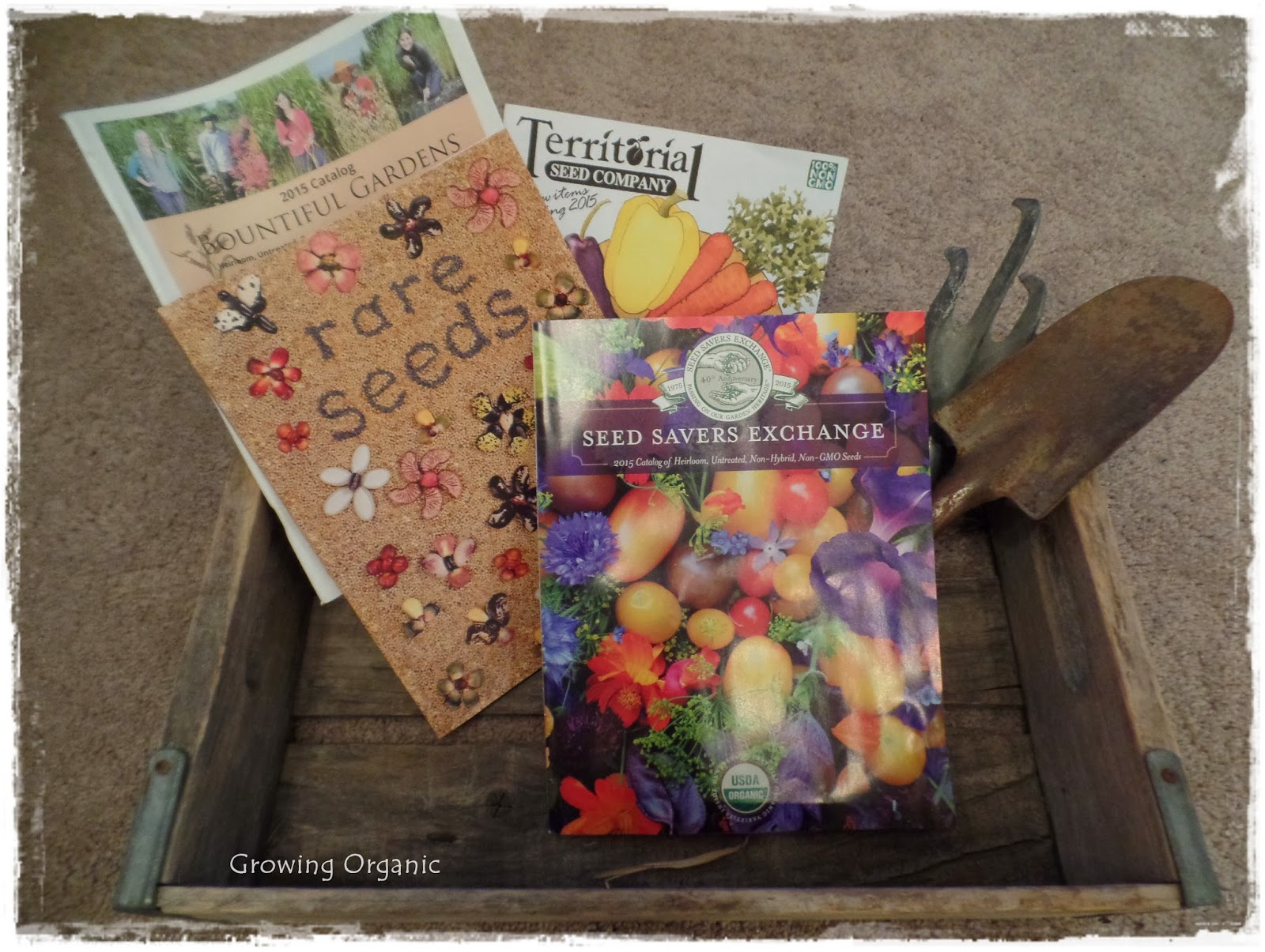 Growing Organic : Organizing and Ordering Seeds