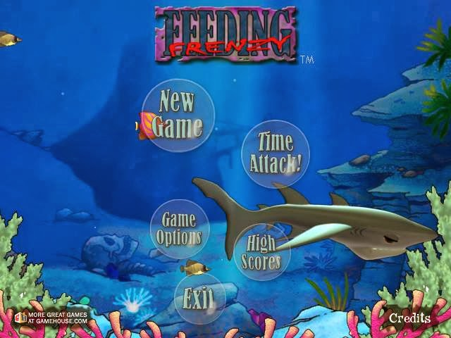 feeding frenzy, game ikan
