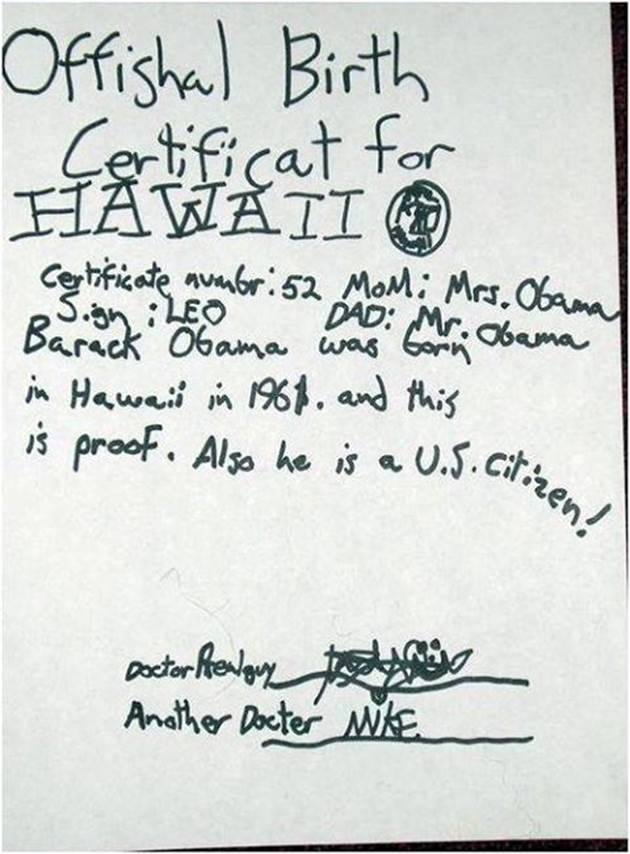 Israel Matzav: Did you celebrate President Obama\'s birth on Sunday ...