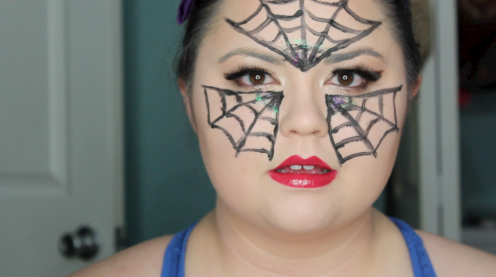 black widow, black widow makeup, black widow spider, halloween, halloween costume, halloween makeup, halloween makeup tutorial, halloween spider, halloween tutorial, spider costume, spider makeup,